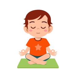 Yoga Kids Photos Royalty Free Images Graphics Vectors Videos Adobe Stock