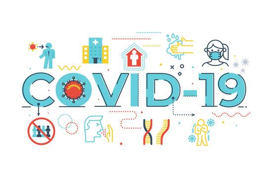 COVID-19 illustration