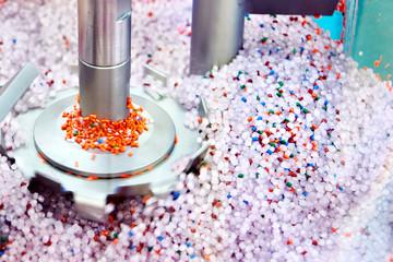 Fototapeta Centrifuge for plastic granules obraz