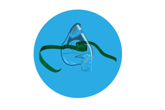 Continuous Positive Airway Pressure Therapy (CPAP) mask icon