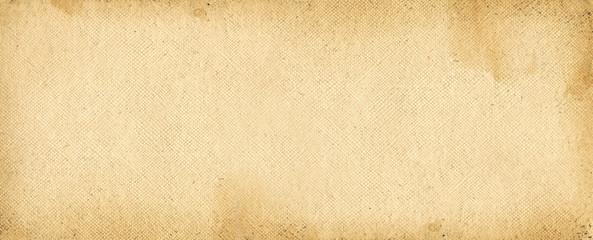 Old parchment paper. Banner texture