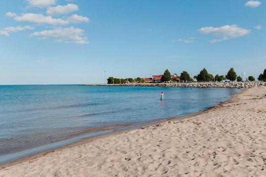 Sheboygan Wisconsin Beach