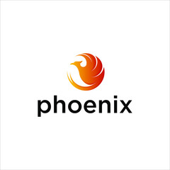 the phoenix logo is in the circle