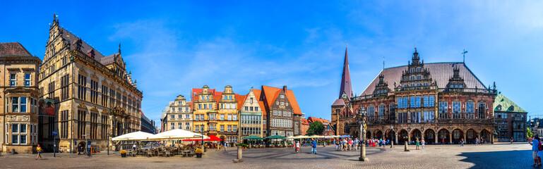 Wall Mural - Rathaus und Marktplatz, Bremen, Deutschland