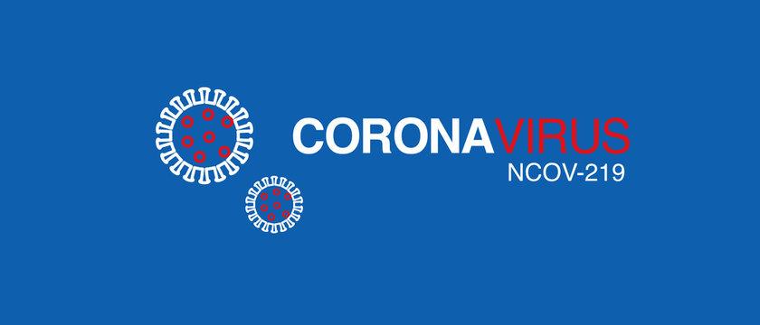 coronavirus logo  2019-nCoV covid-19 corona virus vector