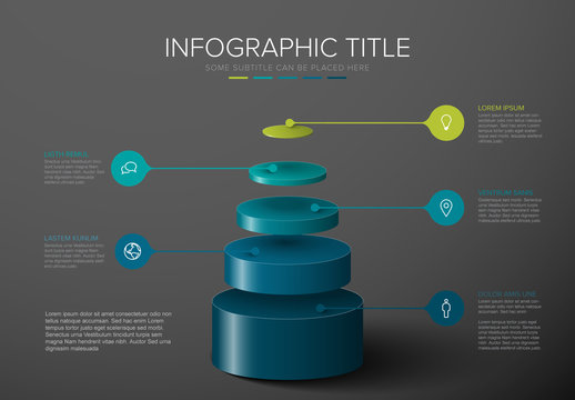 Layers Infographic Template
