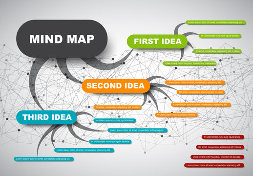 Colorful Mindmap Template