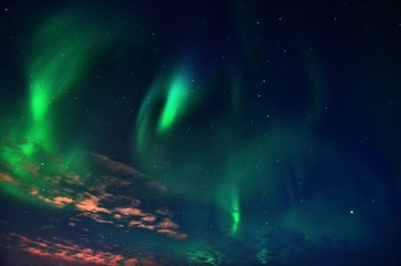 Northern Lights , Alta , Norway , Arctic Circle , Aurora Borealis