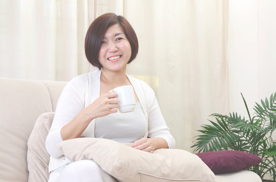 Asian middle age  woman