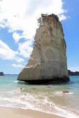 Foto auf Leinwand Cathedral Cove Te Hoho Rock bei der Cathedral Cove. Coromandel Halbinsel. Neuseeland