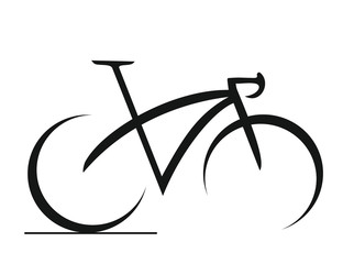 BIKE ICON ART ABSTRACT CYCLE Fototapete