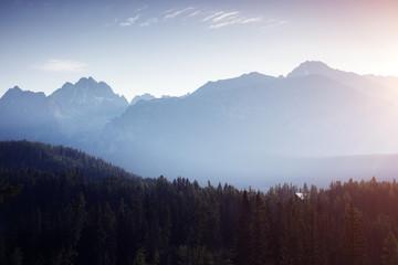 壁紙(ウォールミューラル) - Peaceful mountains in National Park High Tatra. Location Slovakia, Europe.