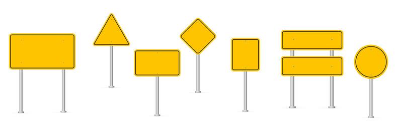 road signs Fotomurales