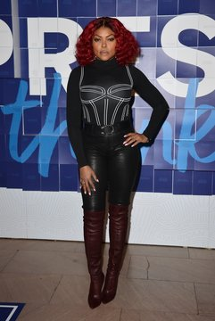 Taraji P. Henson in attendance for American Express Launches #ExpressThanks Pop Up Cafe to Celebrate Employee Appreciation Day