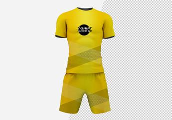 Men's Sportswear Set Mockup
