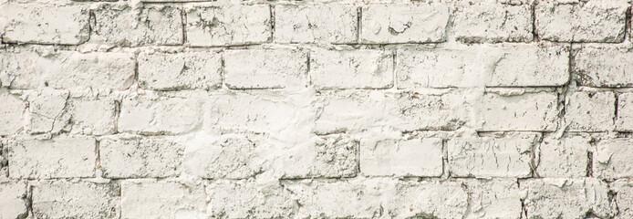 old white brick wall