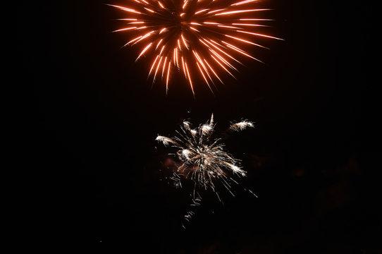 fireworks for July 14