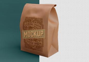 Big Kraft Bag Mockup