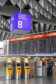 Frankfurt FRA airport Terminal 1
