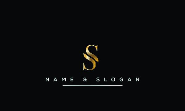 Initial S ,SS  Letter Logo Design
