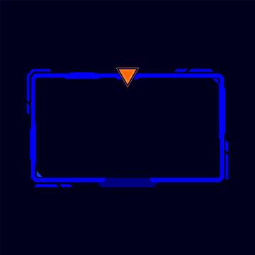Streaming Screen Panel design - VECTOR