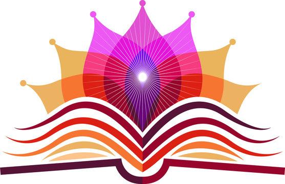 book yoga logo