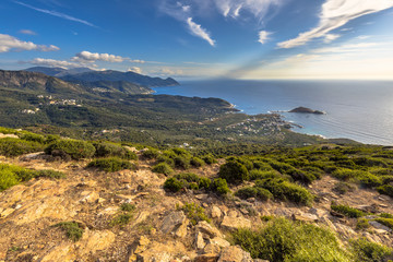 Wall Mural - View over Cap Corse