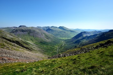 The mountains of Wasdale