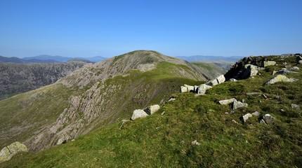 Boulders on summit of Scoat Fell