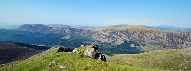 Ennerdale valley from Scoat Fell