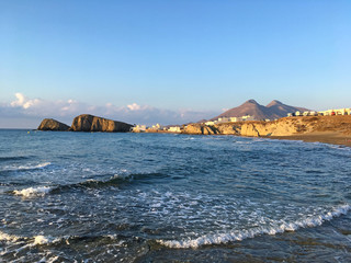 Papier Peint - playa almeria isleta del moro mediterraneo IMG_9633-as20