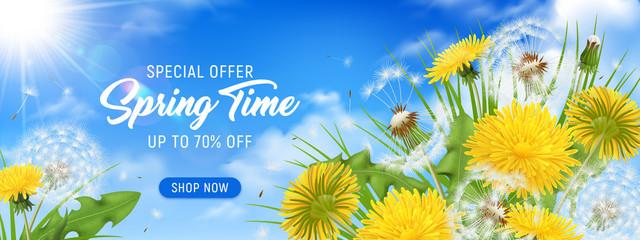 Spring Time Horizontal Poster
