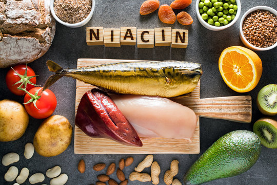 Foods high in Niacin (Vitamin B3)