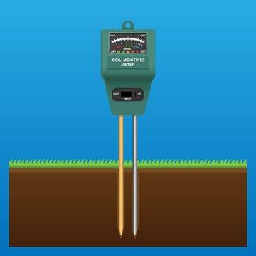 Soil Moisture Analog Meter