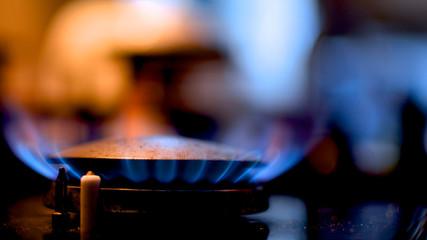 Gas Burning Stove