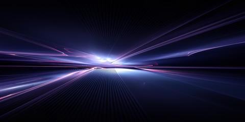 Obraz futuristic technology background - fototapety do salonu