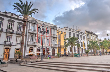 Fototapete - Las Palmas de Gran Canaria, Vegueta district