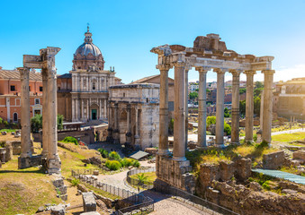 Deurstickers Rome Italy at Dawn