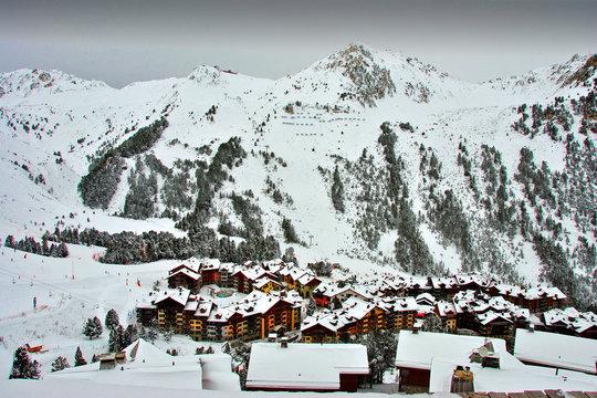 Les Arcs Arc 1950 Paradiski Ski Area Savoie French Alps France
