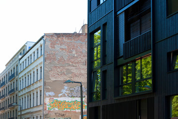 Neubauarchitektur in Berlin-Mitte