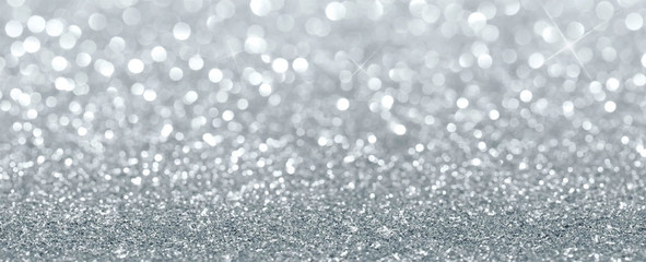silver glitter sparkle texture background vector