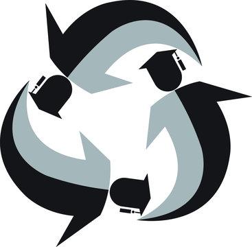 educational environmental logo