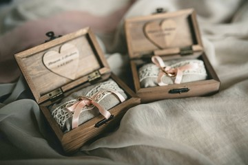 wedding ring bearer box
