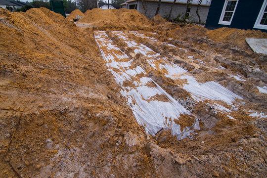 septic leach field