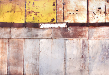 beautiful rusty background with cracks