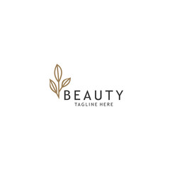 simple Abstract beauty logo Universal creative premium symbol. Graceful jewel boutique vector sign