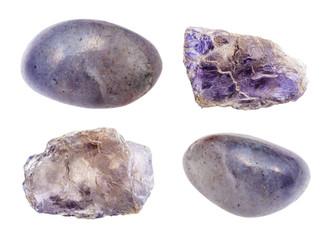 set of various Cordierite (Iolite) gemstones