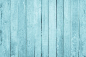 Old grunge wood plank texture background. Vintage blue wooden board wall have antique cracking style background objects for furniture design. Painted weathered peeling table woodworking hardwoods.