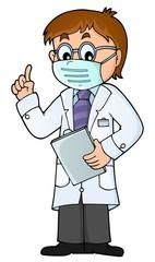 Foto op Plexiglas Voor kinderen Doctor theme image 8