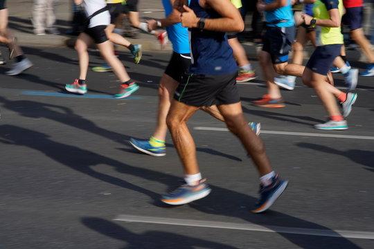 Marathon, Laufen